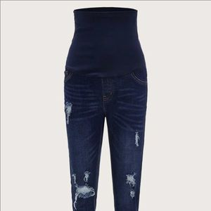 SHEIN maternity jeans